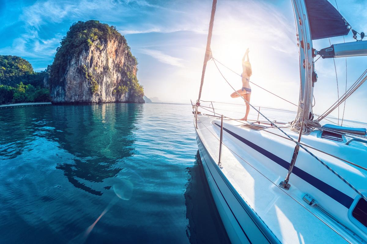 Yoga Retreat on a Sailboat in Croatia
