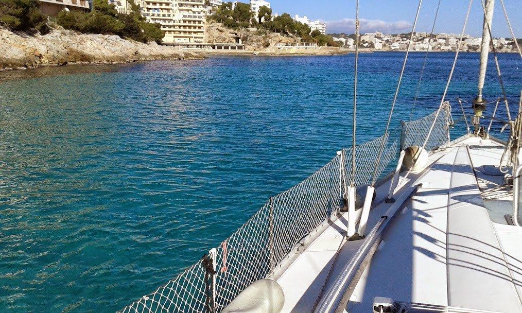 Salidas de navegación invernales por Mallorca