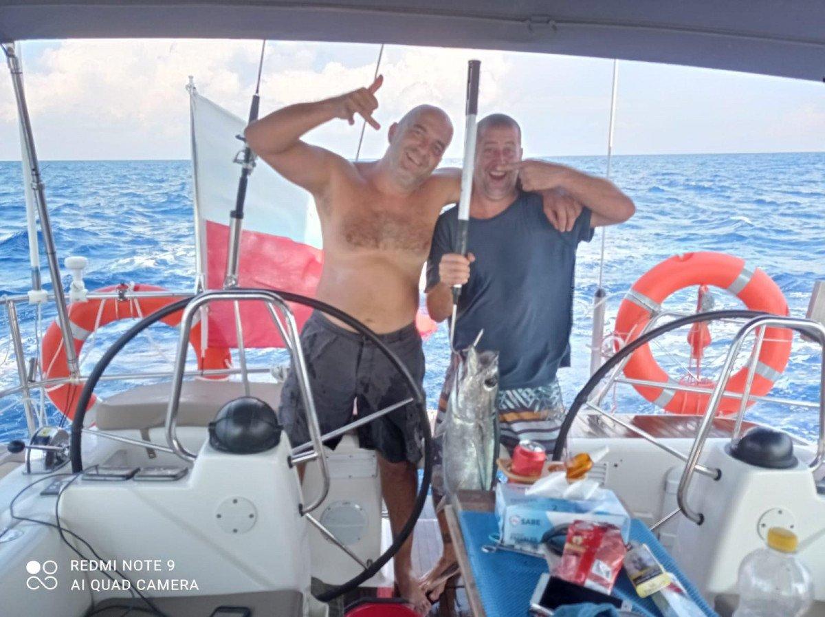 Cruce del Atlántico rumbo al Caribe