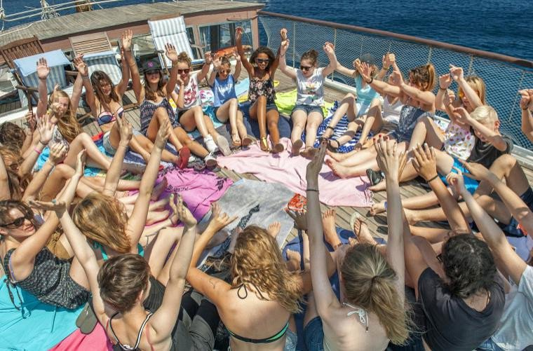 Mykonos Party Boat Cruise for Young Professionals