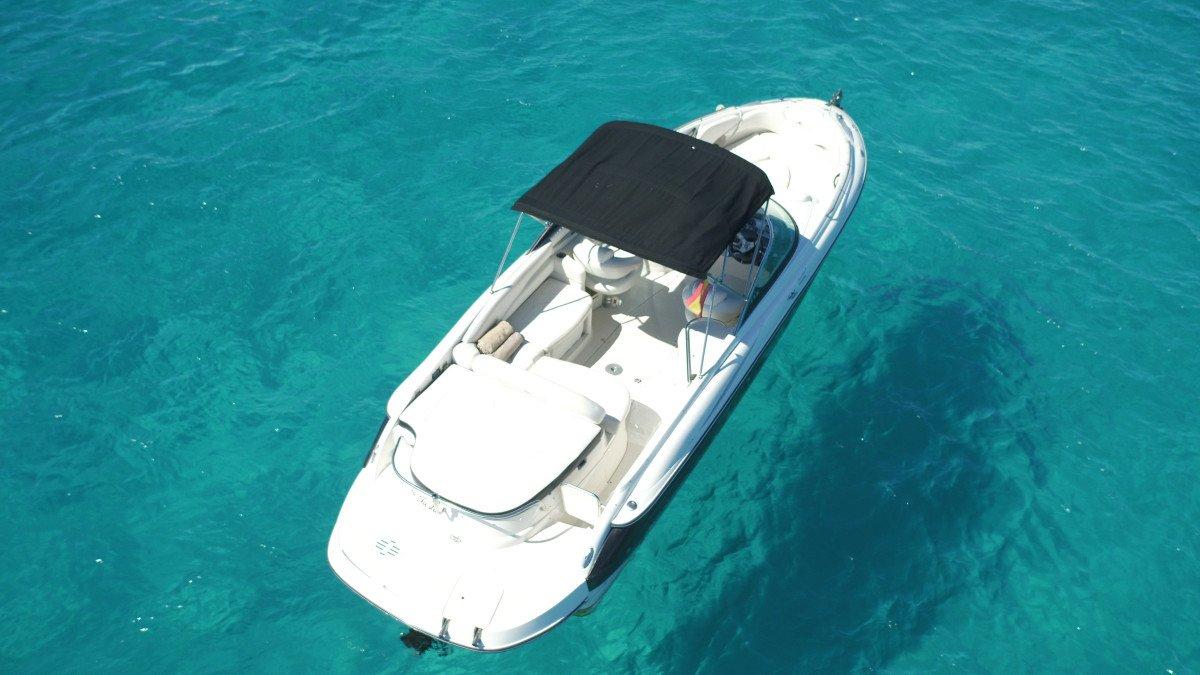 Excursión en barco de 4 horas por las mejores calas de Ibiza y Formentera