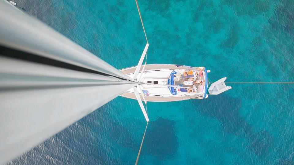 Traversata in barca a vela dell'arcipelago di Spalato- Croazia