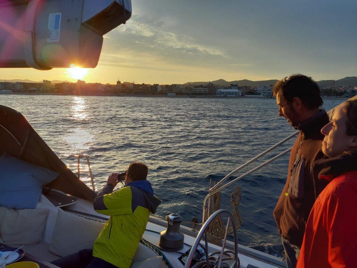 Navegación en velero por Costa Brava durante1 semana
