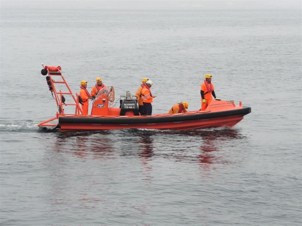 Actualización de Botes de Rescate No Rápidos en Vigo