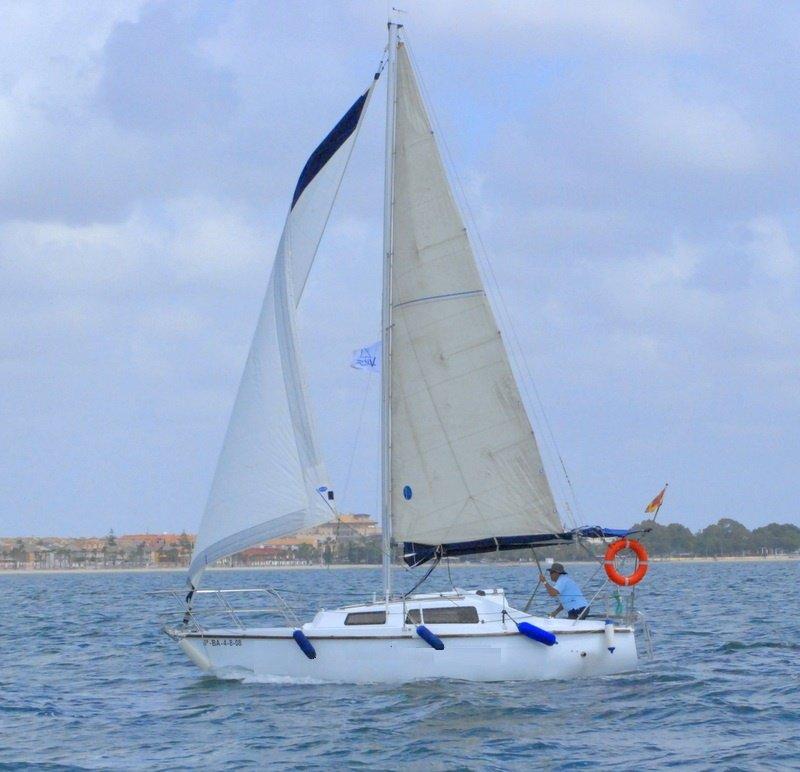 Clases vela crucero 4 h Mar Menor y sigues navegando tu solo