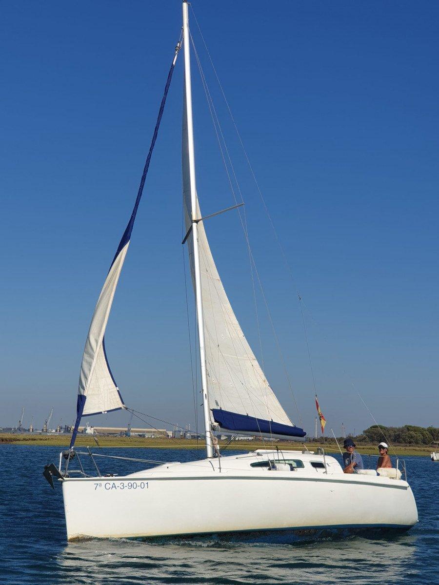 Paseo en velero por la Ría de Huelva y Punta Umbría