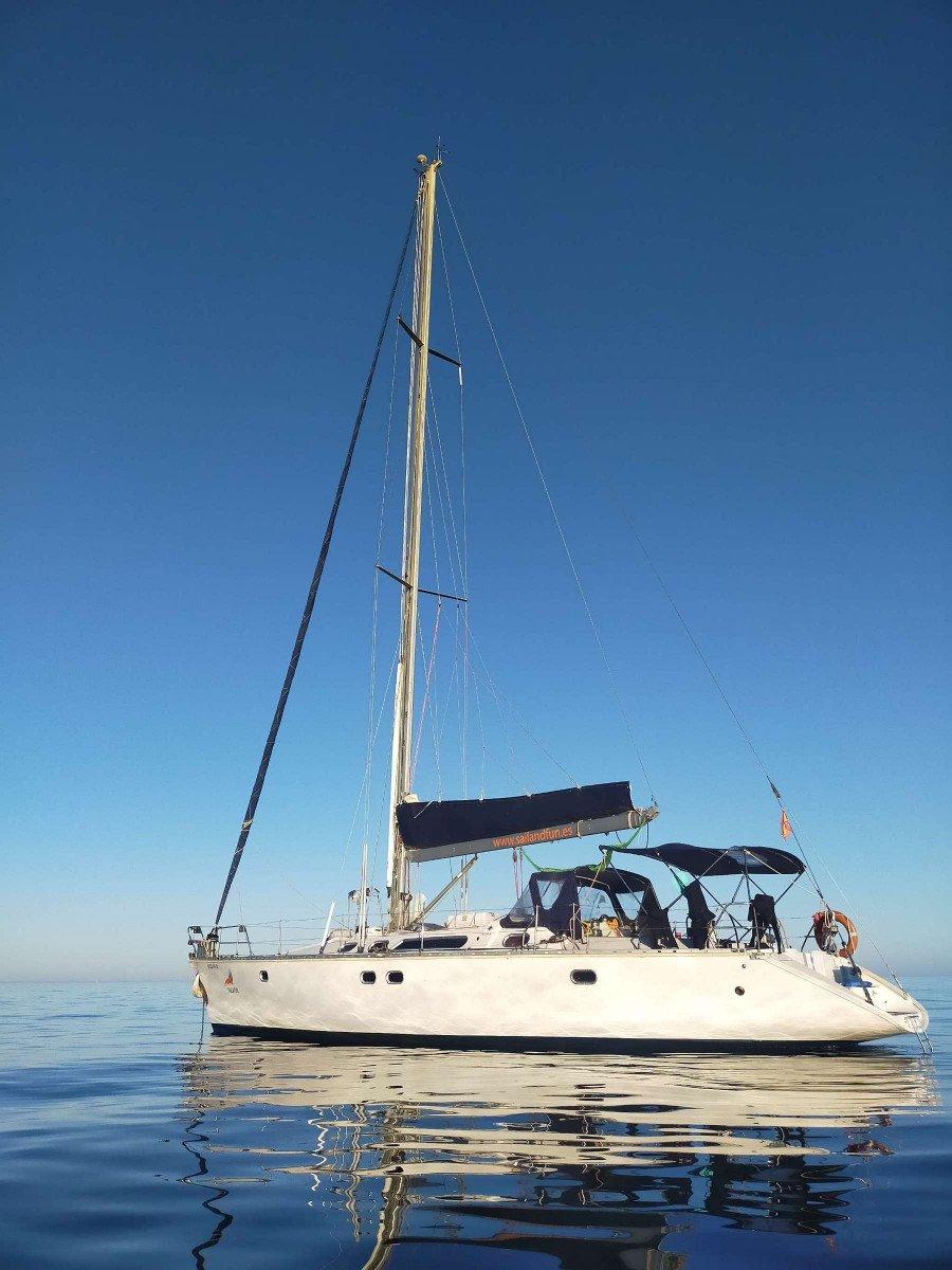 Alquiler de velero en Ibiza durante una semana