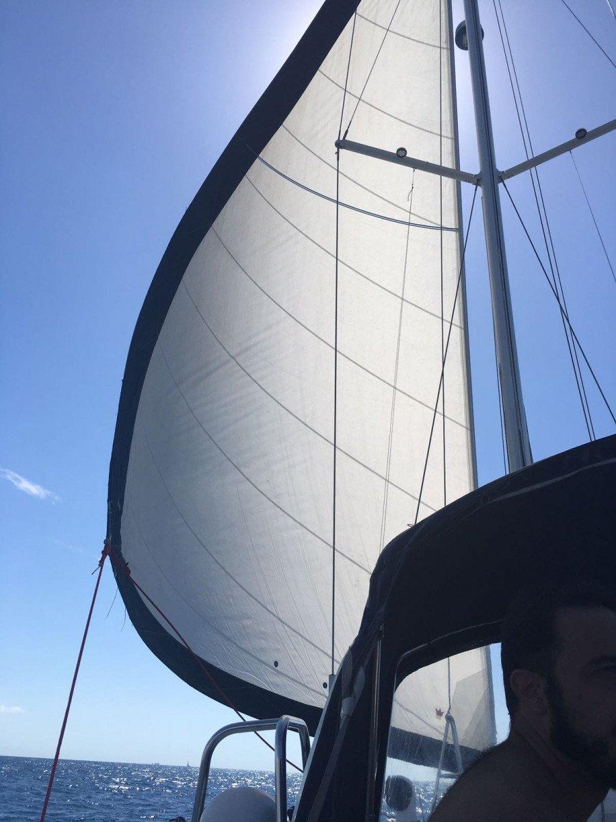 Prácticas de habilitación a Vela en La Manga del Mar Menor