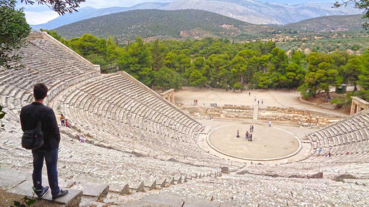 Una semana navegando en flotilla por la Antigua Grecia