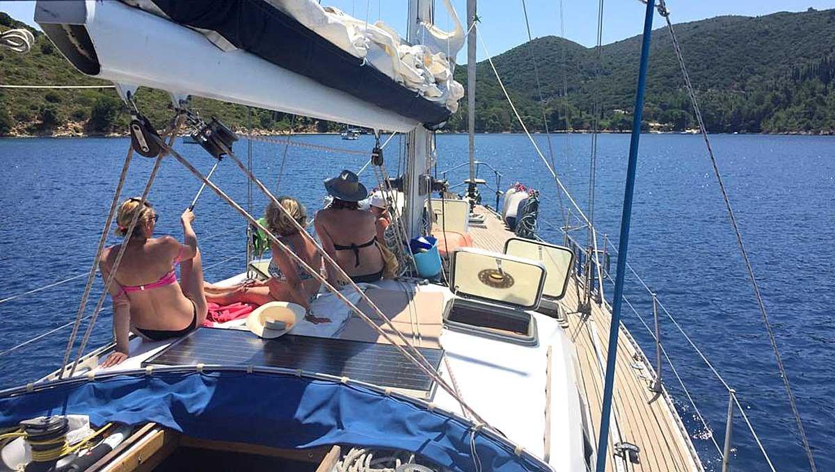 Sulla rotta di Ulisse in barca a vela per le isole greche