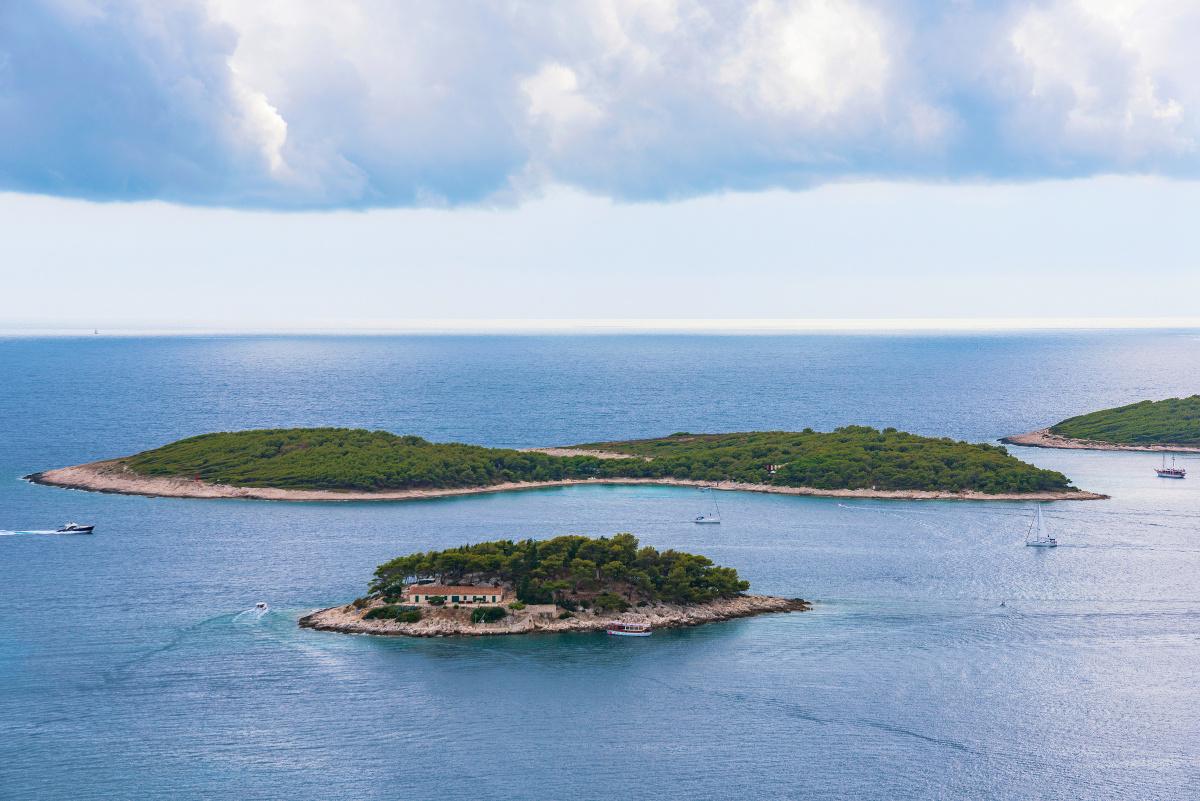 Viaje en velero a las Islas Dálmatas, Croacia