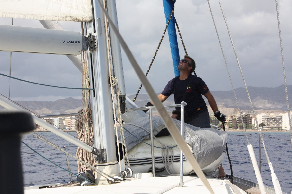 Prácticas de Navegación y Seguridad PER en Águilas