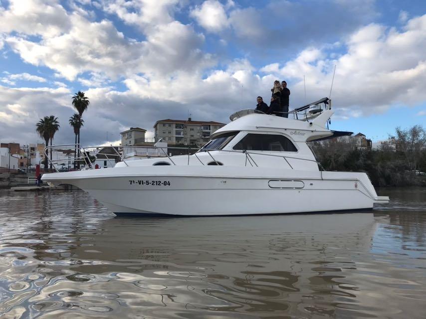 Navegación de 2 horas por Sevilla