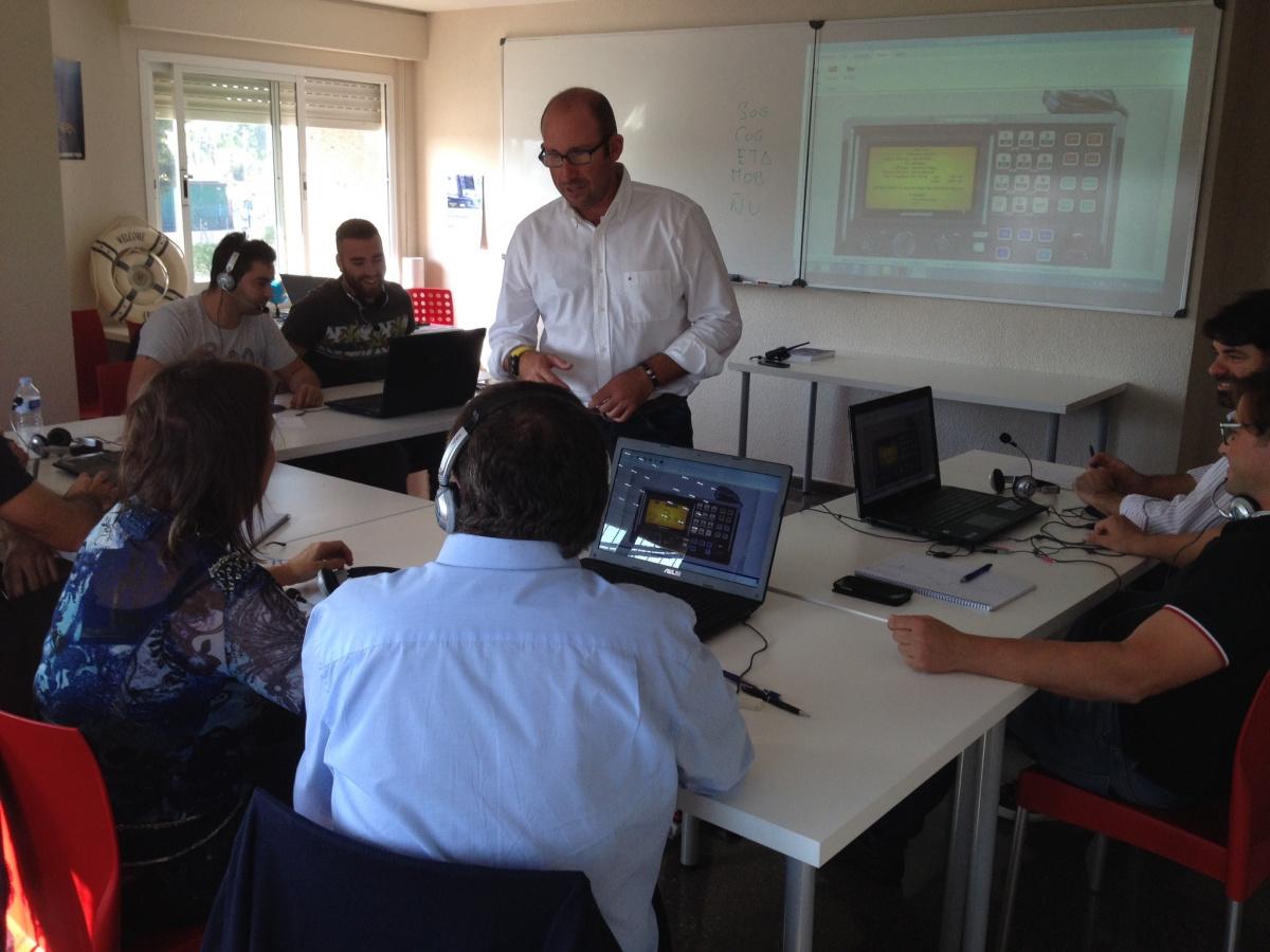 Prácticas de radiocomunicaciones PNB en Castellón