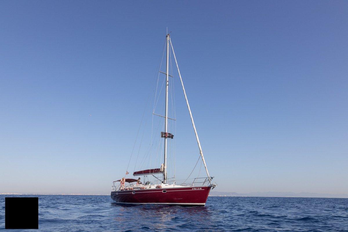 Navegación a vela de Almería a Valencia