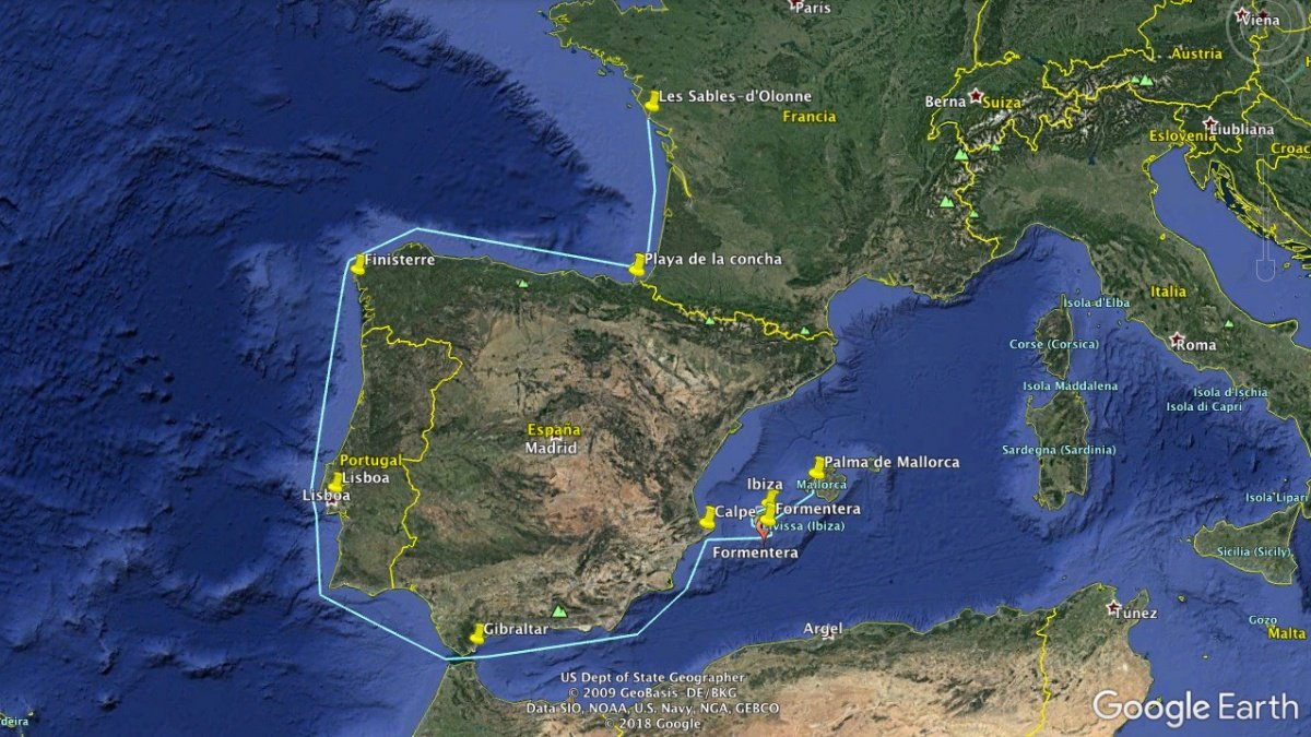 Travesía en catamarán desde Port Olona (Francia) hasta Mallorca