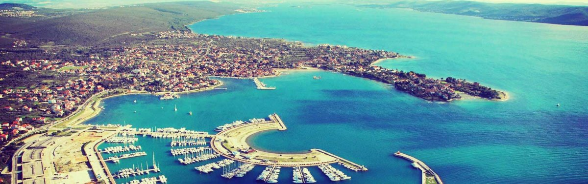Una semana navegando en flotilla por la costa de Croacia