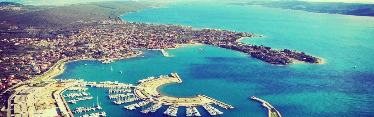 Ruta en flotilla por la costa de Croacia