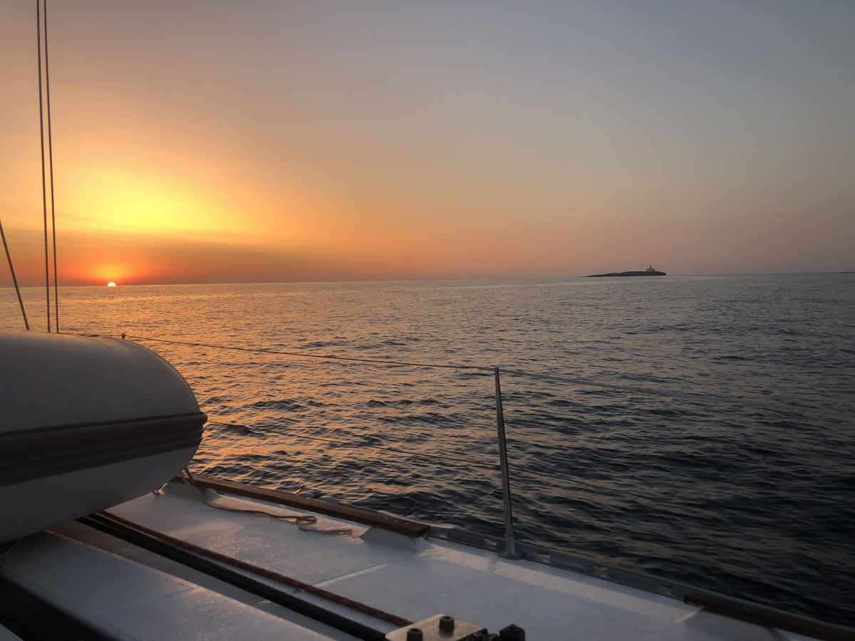 Paseos a vela por la bahía de Málaga