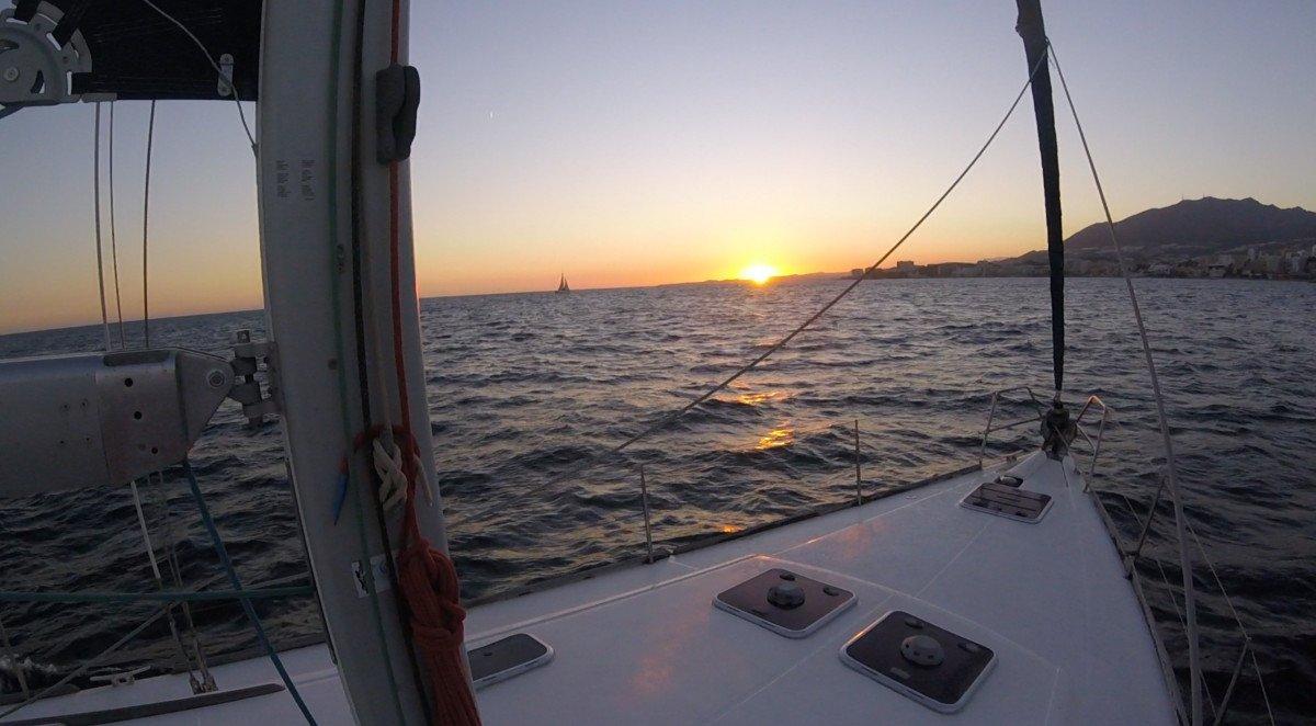 Curso de navegación de altura a vela en Málaga