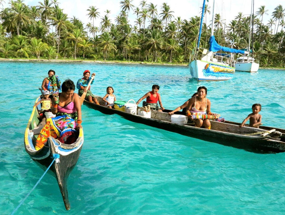 Navega durante una semana en un paraíso, San Blas (Panamá)