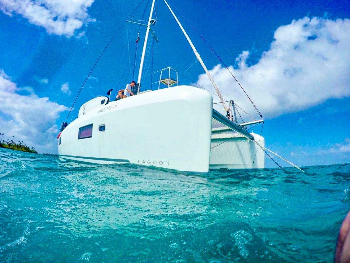 Viaje en catamarán de San Blas a Belice
