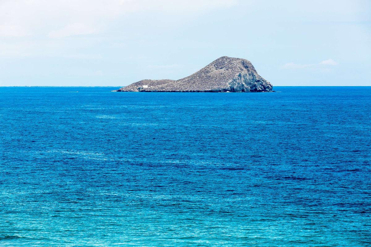 Navega por la costa de Murcia