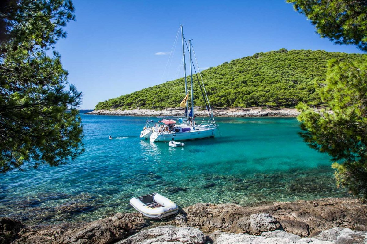 Flotilla adventure along the Croatian coast
