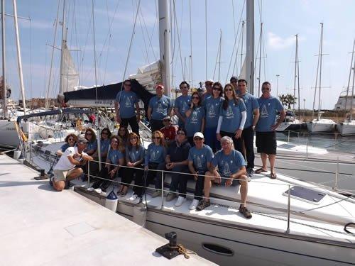Participa en la regata de la Ruta de la Sal desde Valencia