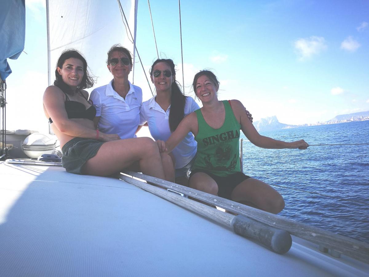 Vacaciones de verano en Ibiza y Formentera en velero desde Denia