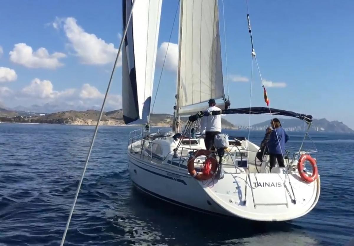 Regata Trofeo 5 Clubs en la costa de Alicante