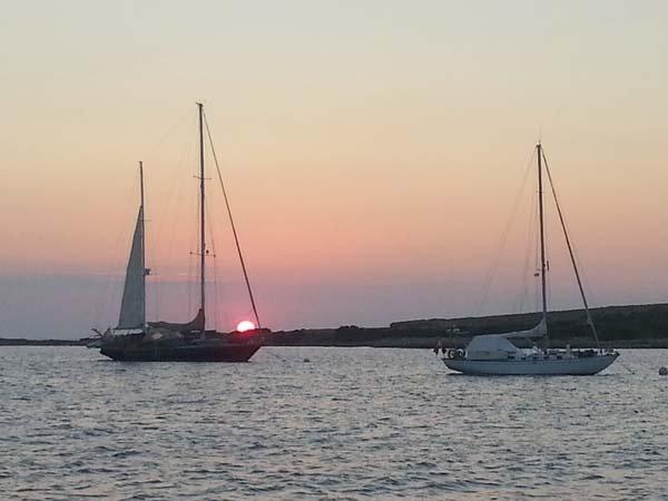 Rumbo a Ibiza y Formentera en velero