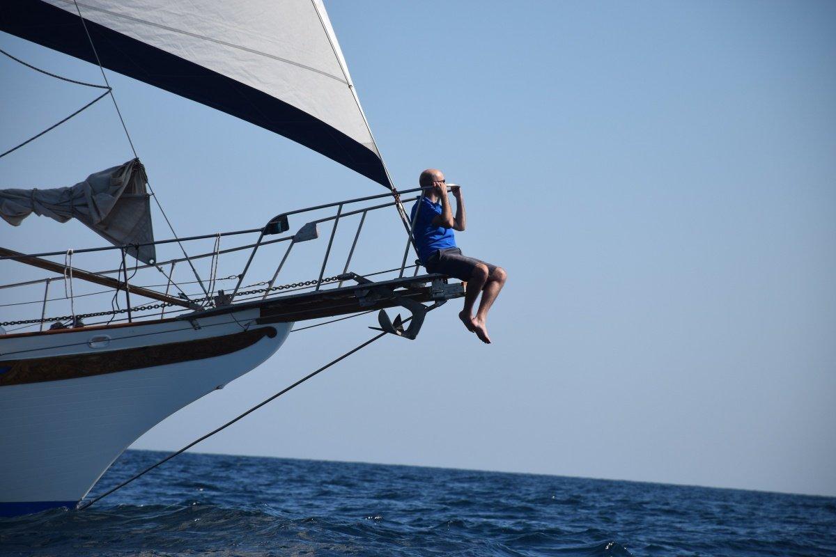 Fin de semana navegando a vela por la costa alicantina
