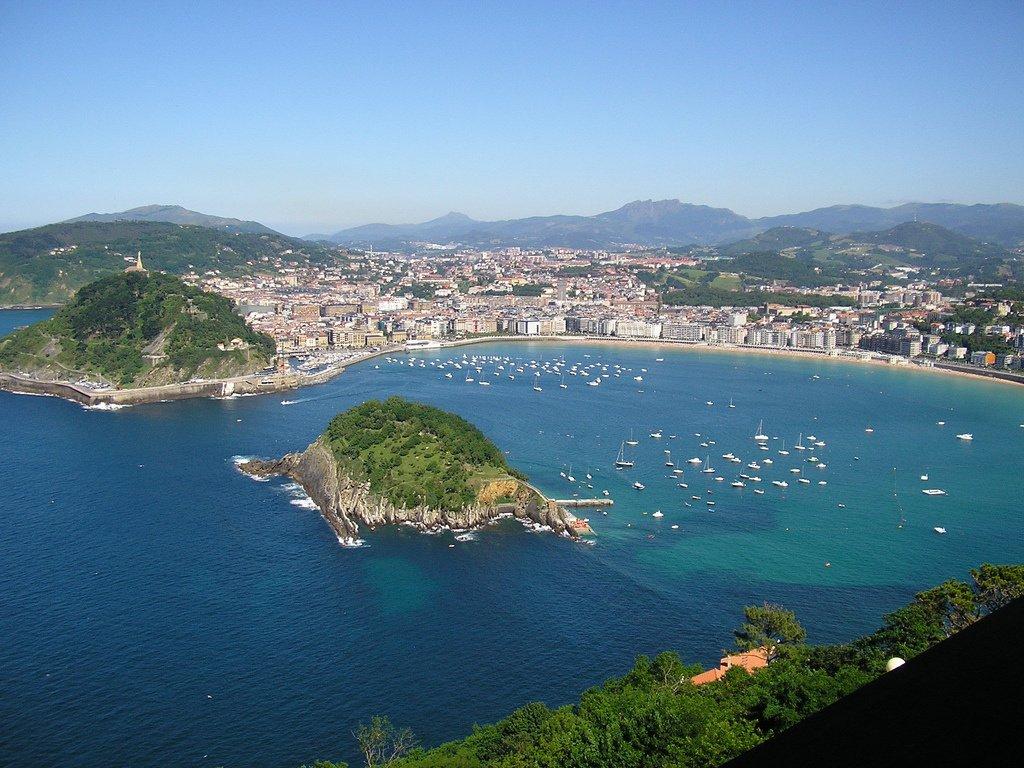 Bahía de San Sebastián, la joya del País Vasco