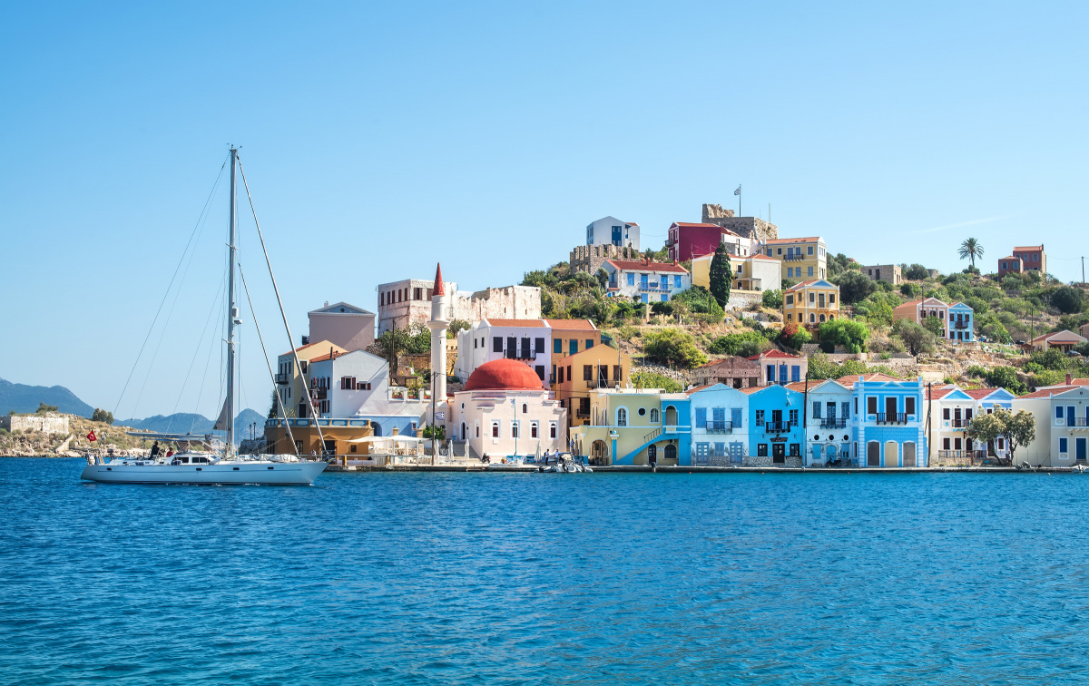 Sailing the Greek Dodecanese for a week