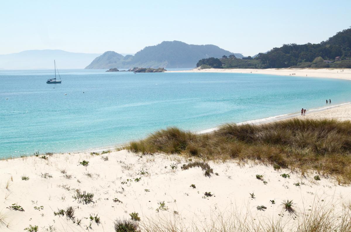 Día de navegación por las Islas Cíes y la ría de Vigo