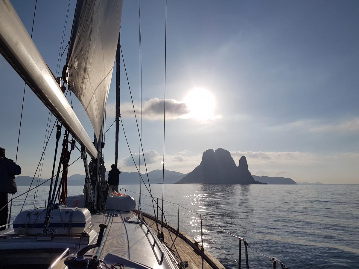 Crucero vela y buceo en Ibiza y Formentera 4 noches