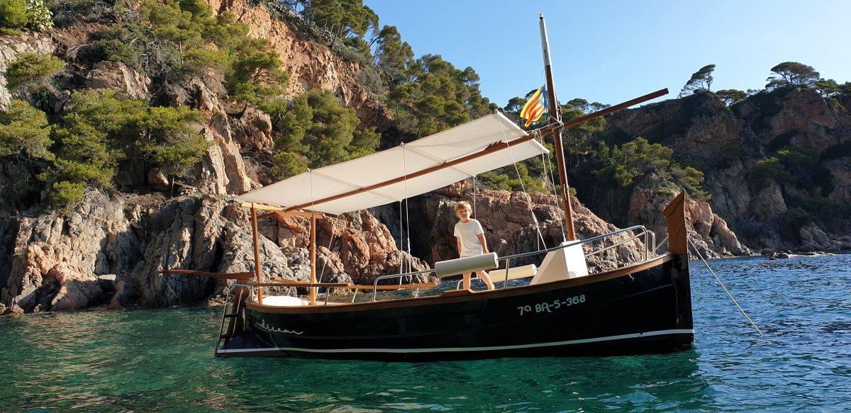 Paseo en barco por la costa del Maresme
