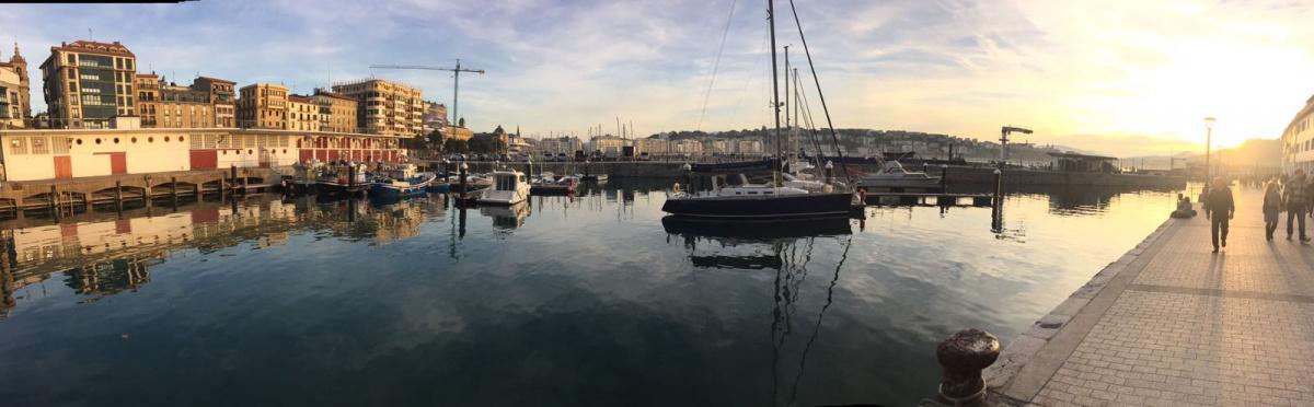 Salida atardecer desde San Sebastián - Sunset