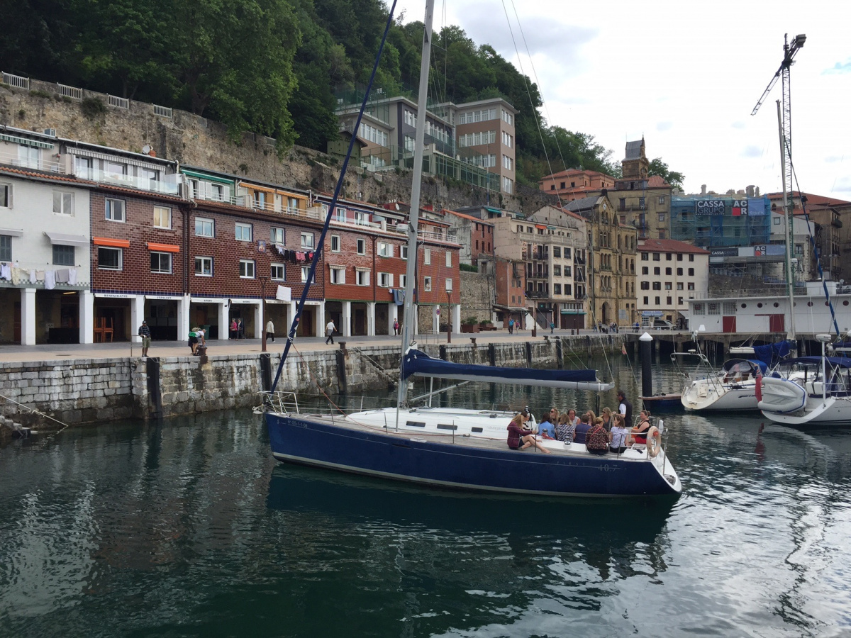 Curso practico de vela - Ampliacion de titulo PER en San Sebastián