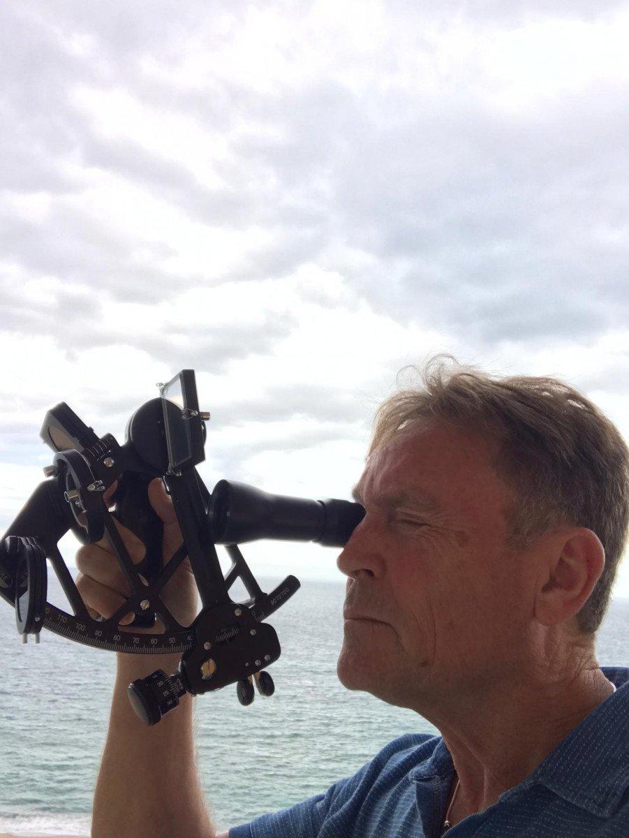 Salidas de navegación a vela con sextante desde Roses