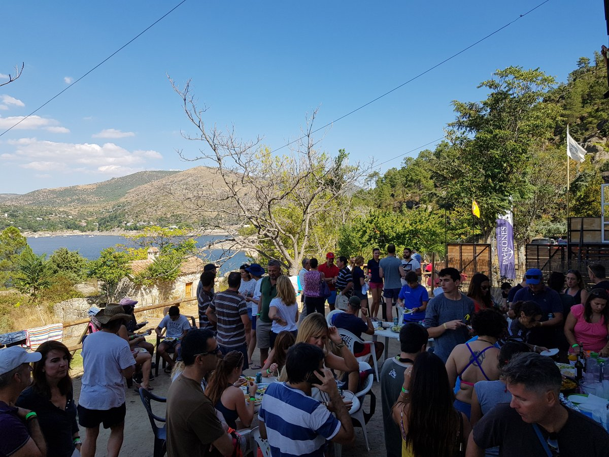 II Sail & Rock en el Embalse del Burguillo