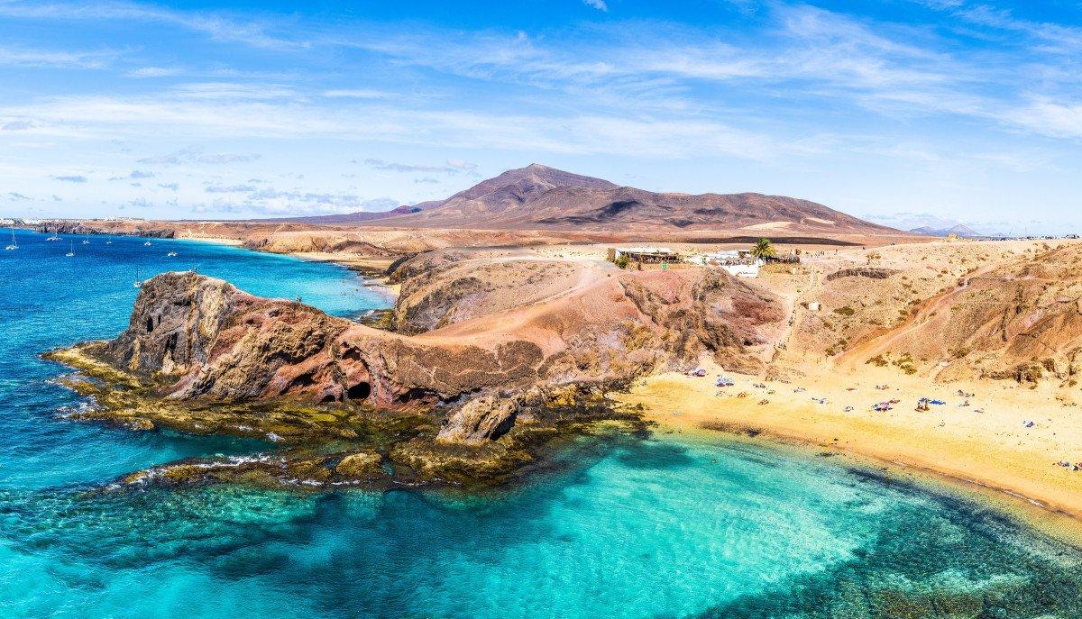 Catamaran discovering the Agadian Islands
