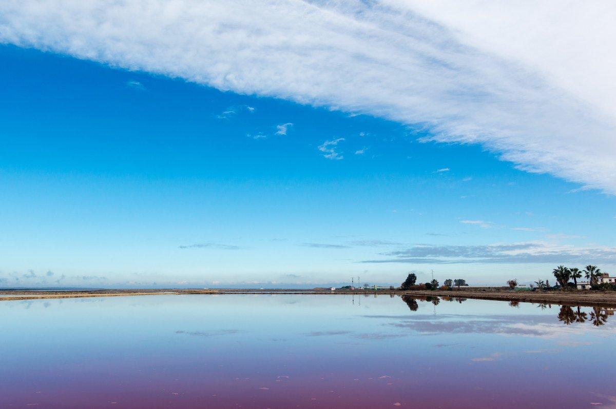 Navega por las Marismas del Guadalquivir hasta su salida al Mar