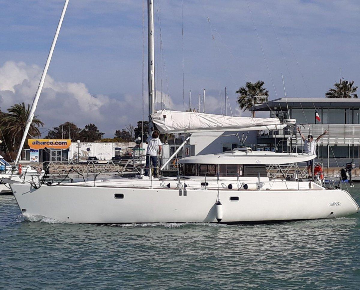 Travesía en velero de Málaga a Ibiza
