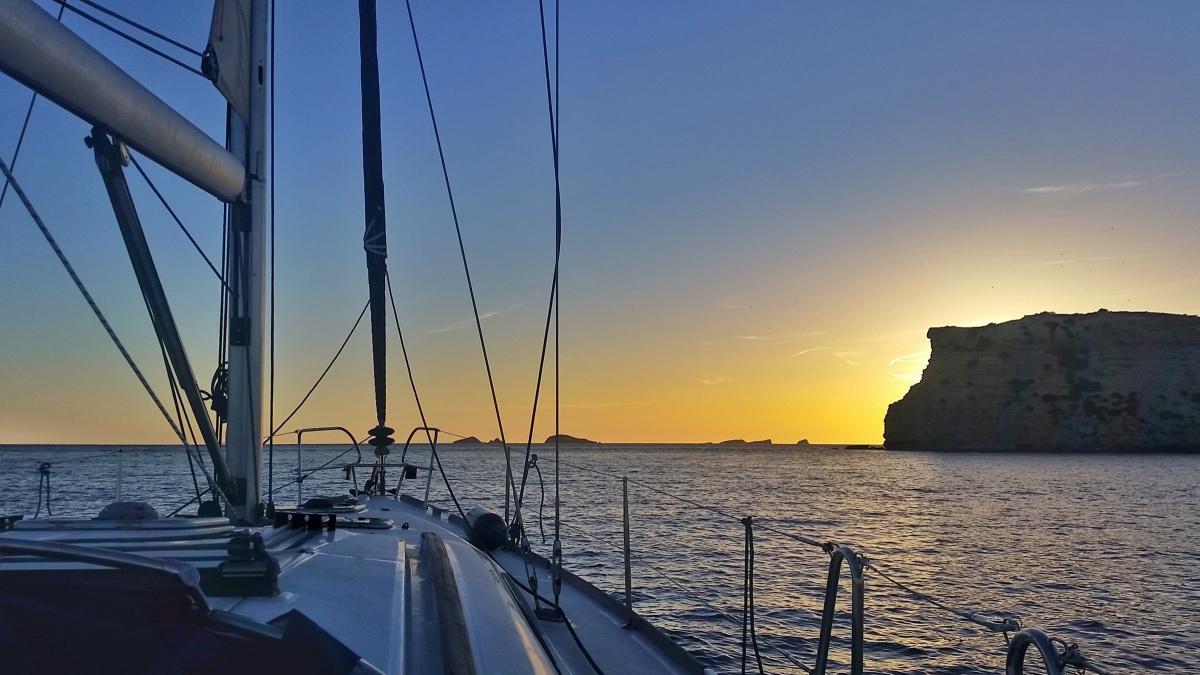 Semana plaza a plaza en velero en Ibiza y Formentera