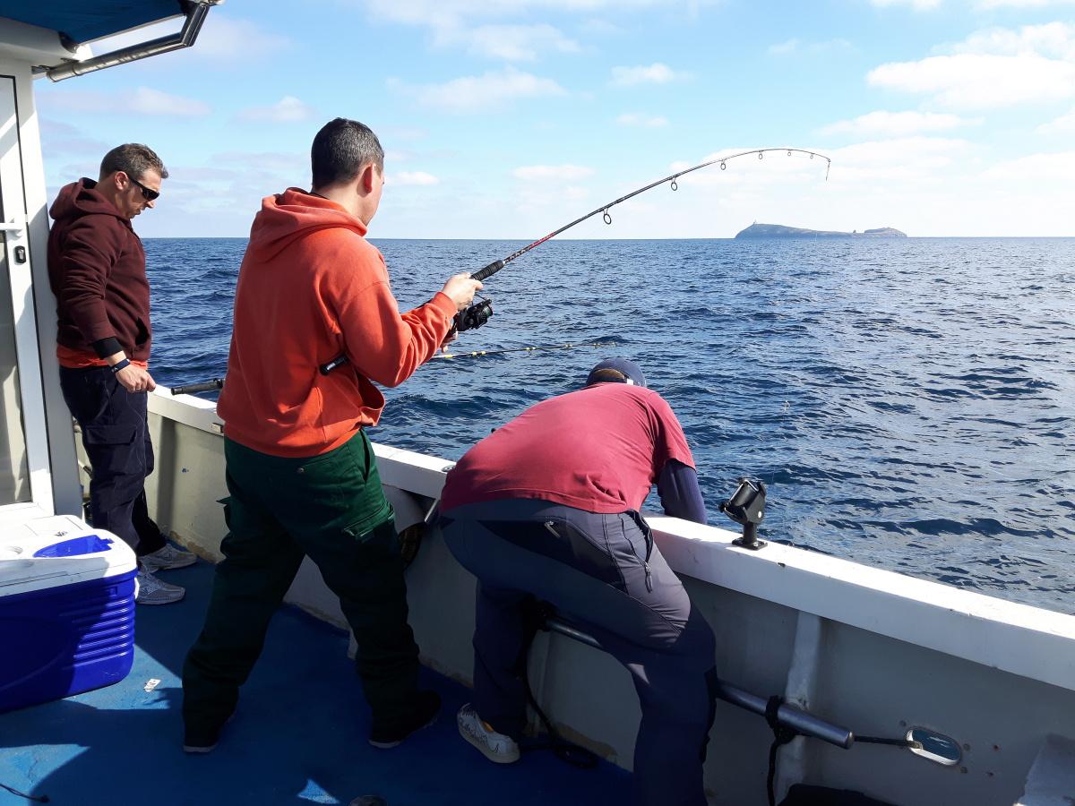 Pesca en Columbretes
