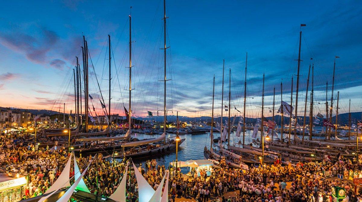 Les Voiles de St Tropez Regatta