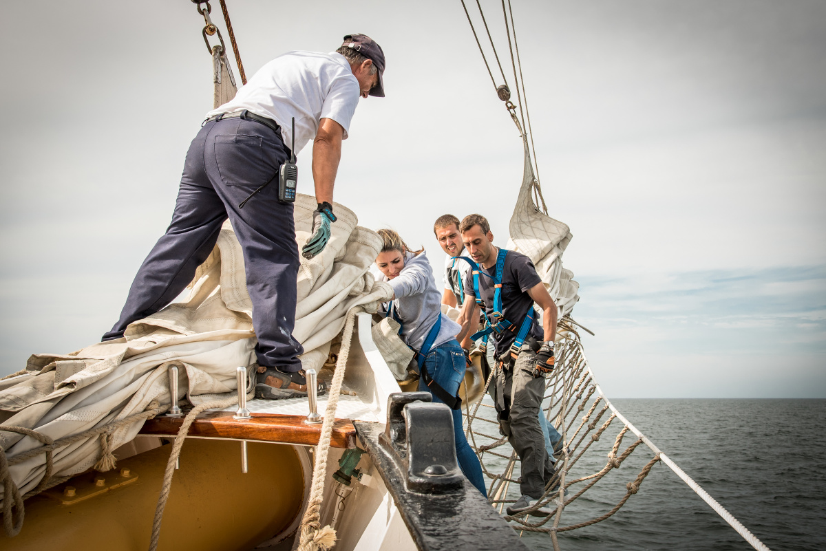 Diving Excursion in Cape Verde on a Tall Ship