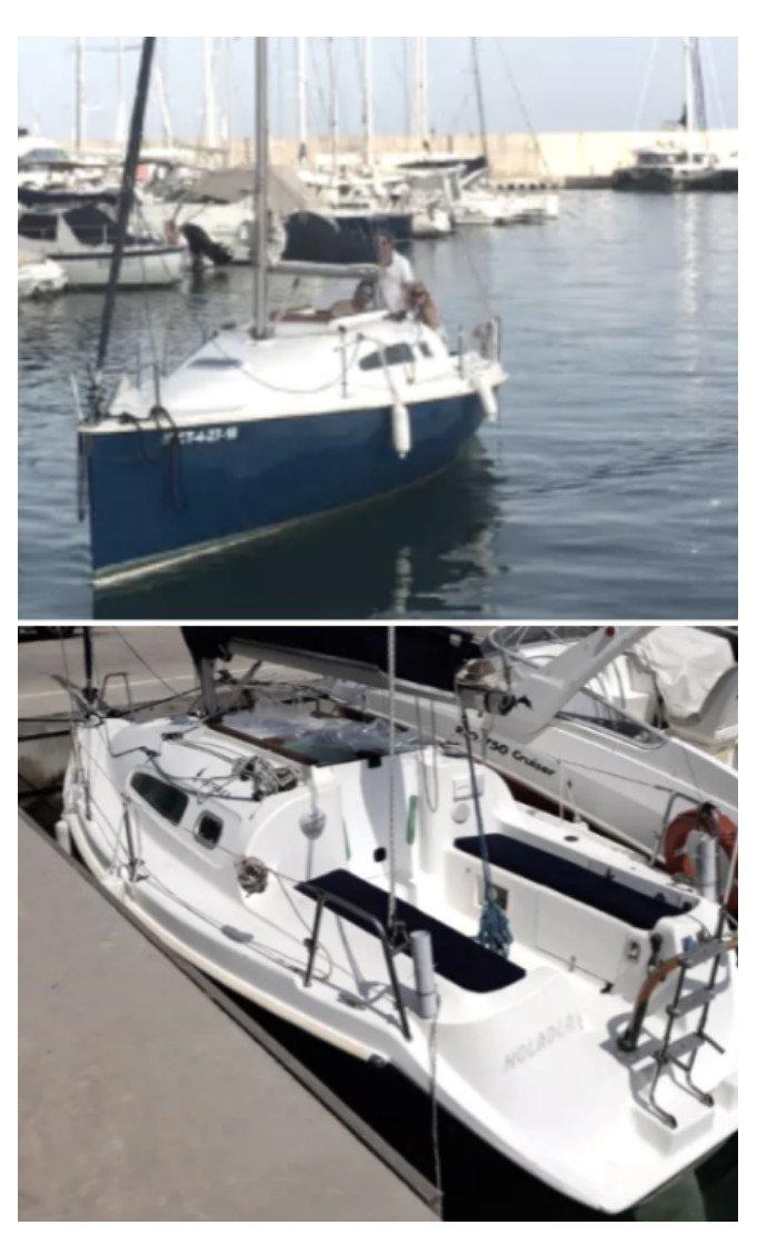 Salida en velero por Garraf